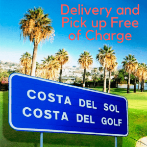 Delivery and Pick up Free of charge
