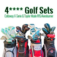 4-stars-Golf-Sets-Callaway-X-Serie-&-Taylor-Made-R15Aeroburner